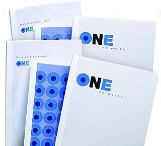 GBC IB370090 Pack de 50 Couvertures de Reliure Thermique 20 mm Blanc