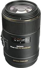 Sigma 258306 105mm F2.8 EX DG OS HSM Macro Lens for Nikon DSLR Camera - International Version (No Warranty)