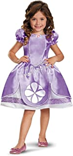 Disney Junior Sofia The First Classic Toddlers Costume Dress