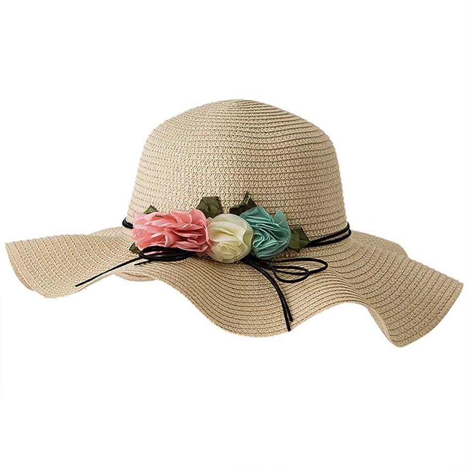 比較的貧困しっとりアウトドアファッションビッグバイザー UVカット 帽子 レディース 春用帽子 小顔効果 折りたため 日よけ帽子 高性能 高耐久性 女性の春と夏の無地のコットンキャップ 漁師の帽子 流域キャップ 日焼け対策 ROSE ROMAN