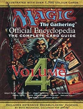 Magic  The Gathering -- Official Encyclopedia Volume 4
