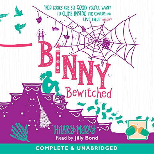 Binny Bewitched audiobook cover art