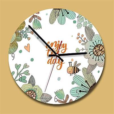 SHFISIKI Clock Acrylic Creative Wall Clock Modern Design Kids Bedroom Silent Quartz Reloj De Pared Decorativo