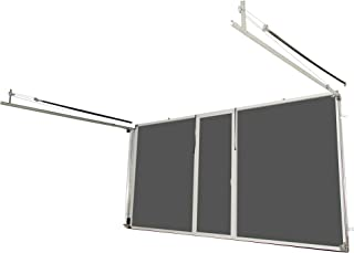 Lifestyle Screens Garage Door Screen 7'H with Standard Screen Material (All Widths & All Colors) (16'Wx7'H, White)
