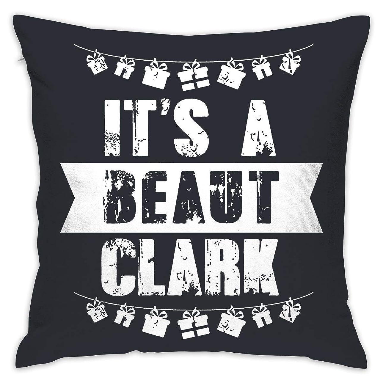 気候の山サイクロプス蓋XixiL Pillowcase It's A Beaut Clark Christmas Home Decorative Throw Pillow Cases Cushion Pillowcase Cover 20 X 20 Inches for Living Room Bedroom Car 枕カバー;正方形; 20 * 20インチ;家;手頃な価格;