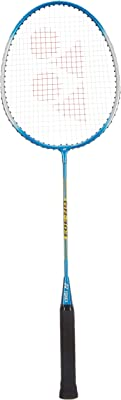 YONEX GR 303F Strung Badminton Racquet ( Blue , G3 , 95 - 99.9 grams )