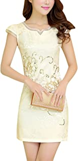 Women's Chinese Traditional Dress Cheongsam Qipao Long