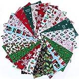 FADACAI Weihnachtsstoffbündel Nähen Stoffe Textilien