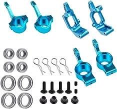 Aluminum Steering Knuckle Kit Hub Carrier Mount Set 102010 102011 102012 Upgrade Parts for RC Redcat Volcano EPX Monster Truck HSP