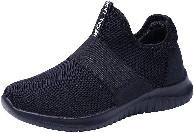 LANCROP Women's Slip On Sneakers - Casual Lightweight Walking Athletic Running Tennis shoes