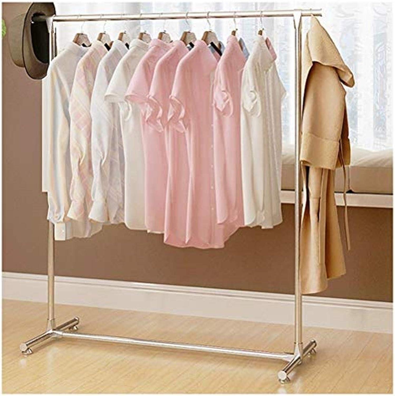 Coat Racks Floor Simple Coat Rack Bedroom Hanger Simple Multi-Purpose Clothes Rack Economy Horizontal Bar Floor Hanger Standing Coat Racks