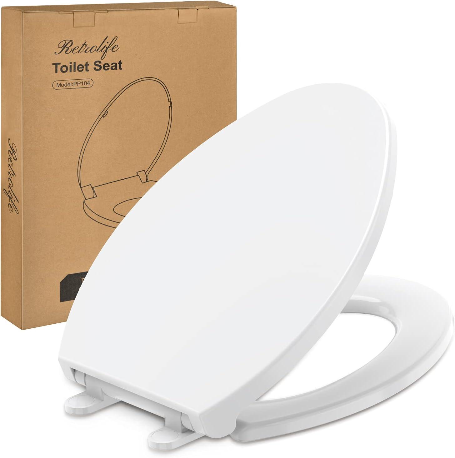 Retrolife Elongated Soft Close Toilet Seat $19.99 Coupon