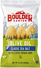 product image for Boulder Canyon Natural Foods Kettle Cooked Potato Chips Olive Oil -- 5 oz (Pack of 2)