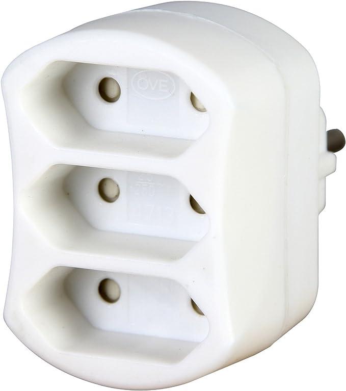 Kopp 471302003 Adapter 3 Fach Weiß Baumarkt