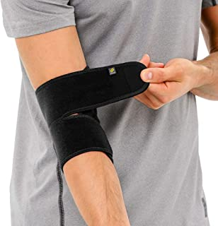 Bracoo Elbow Brace, Reversible Neoprene Support Wrap for Joint, Arthritis Pain Relief, Tendonitis, Sports Injury Recovery,...