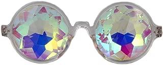Deals, Festivals Kaleidoscope Glasses for Raves - Goggles Rainbow Prism Diffraction Crystal Lenses
