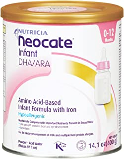 Neocate Infant with DHA and ARA, 14.1 oz / 400 g (1 can)