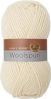 Lion Brand Yarn 671-098 Lion's Pride Woolspun Yarn, Fisherman