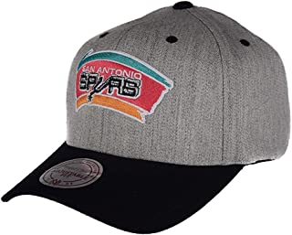 reputable site a4bc1 d4641 Mitchell   Ness San Antonio Spurs Team Logo 2-Tone 110 Grey Snapback