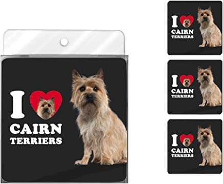 Amazon ae: tree free greetings nc39026 i heart cairn terriers 4 pack