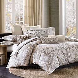 commercial Echo Design Odyssey Quilt  Bedding Set, Queen, Multicolor echo duvet covers