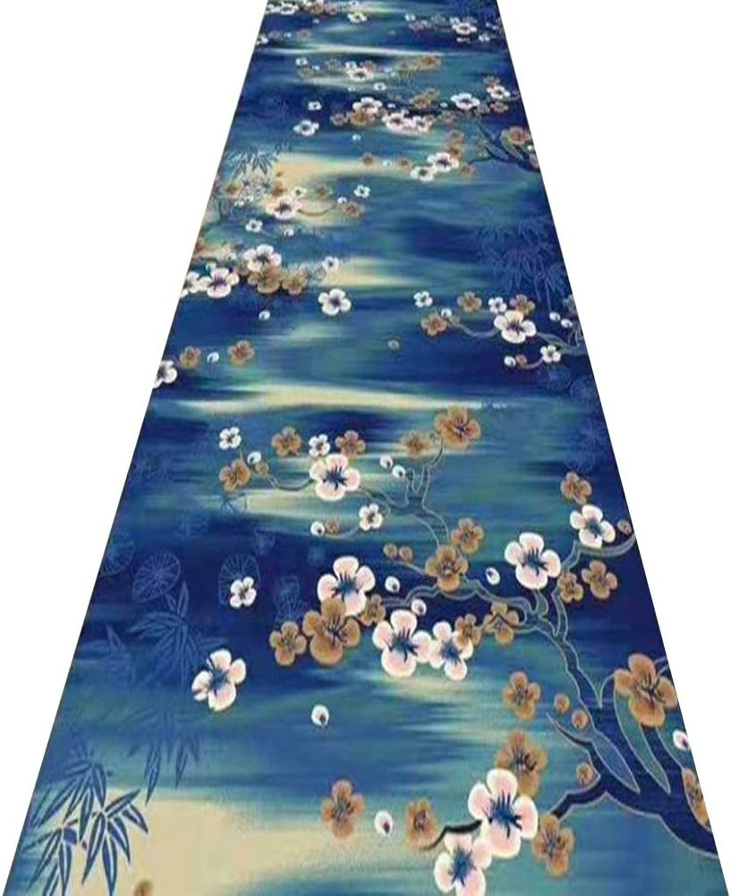 Rug Runner Rugs Limited time trial price Hallway Kitchen Bl Popular brand in the world Area Carpet Navy Entryway