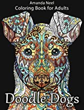 Doodle Dogs Coloring Book for Adults