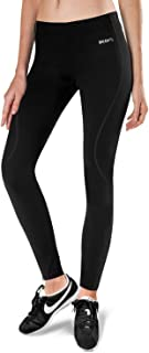BALEAF Women's Thermal Fleece Running Yoga Cycling Tights Athletic Compression Pants for Hiking/Bike