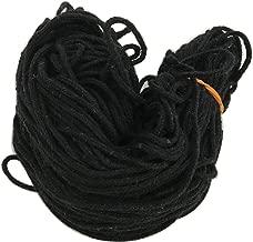 Black Cotton Thread(1 mm Thick)-Kala DHAGA- Nazar -Black String-Kalwa RAKSHA Sutra-Evil Eye Protection THREAD-30