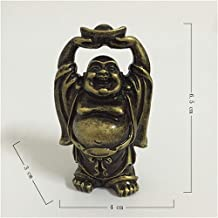Sculptures Home Decor Ornaments Statues Sculptures Bronze Color Laughing Buddha Statue Carved Maitreya Buddha Decorative S...