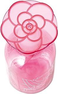 セシール エコポン ピンク 300ml 洗剤ボトル 片手でワンプッシュ 花型プレート 日本製 WE-255