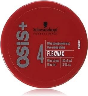 Schwarzkopf Osis Flexwax Ultra Strong Cream Wax 2.8 oz (Pack of 2)