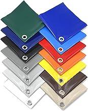 Afdekzeil waterdicht   vrachtwagenzeil 670 g/m²   dekzeil met ogen (elke 50 cm)   zeer robuust waterdicht dekzeil van PVC ...