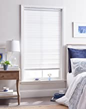 "Curtainworks Panama Window Shade, 23"" W x 64"" L, White"