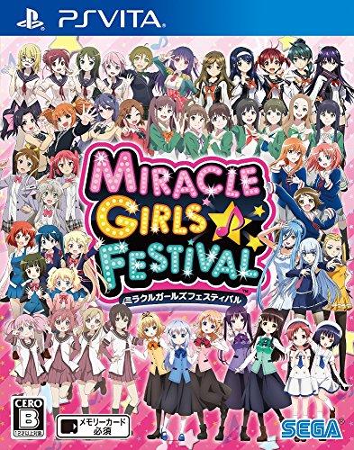 sega ps vita games MIRACLE GIRLS FESTIVAL SEGA PS VITA JAPANESE GAME