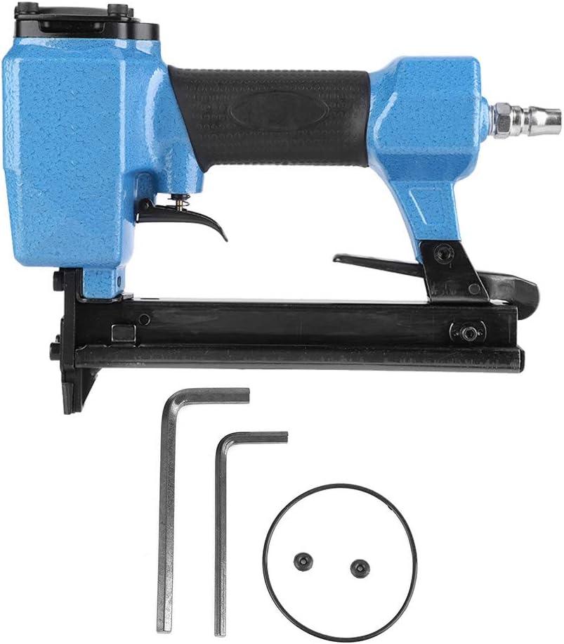 Grapadora de clavos eléctrica Pistola de clavos de aire profesional Clavadora neumática para carpintería