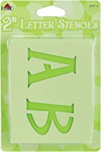 Plaid Letter Stencil Value Pack (2-Inch), 28872 Genie