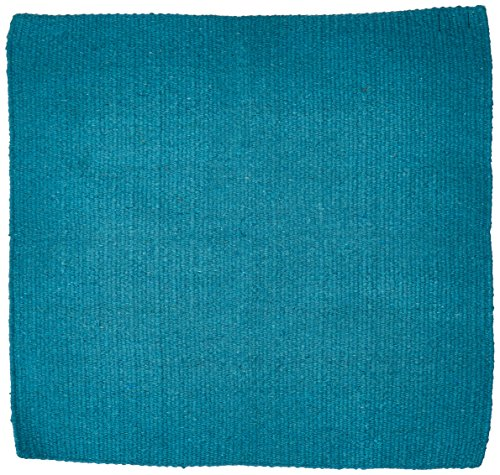Tough 1 Solid Color Saddle Blanket, Turquoise