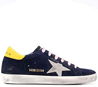 Golden Goose Luxury Fashion Womens G35WS590P76 Blue Sneakers | Fall Winter 19