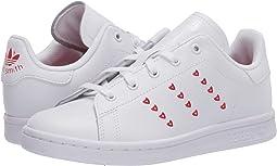 White/Lush Red