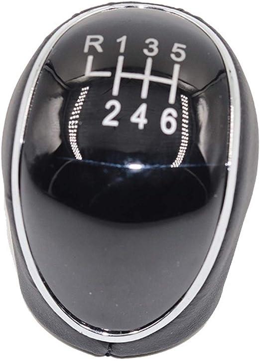 Xingfuqy 5 6 Gang Schaltgetriebe Schaltknauf Kopf Getriebedeckel Schalthebel Stock Fit For Ford Mondeo Iv S Max C Max Transit Mk2 Mk3 Kuga Color Name 6 Speed Küche Haushalt