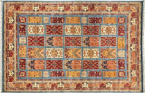 Teppichprinz Alfombra oriental Afgana Ziegler Khorjin 338 x 251 hecha a mano,...