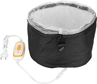 Sombrero eléctrico para el cabello, tratamiento térmico para el cabello, salón de teñido, sombrero para el cabello, enchufe europeo, 220 V, sombrero para el cuidado del cabello para el hogar, spa