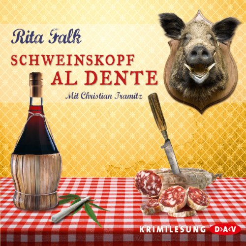 Schweinskopf al dente (Franz Eberhofer 3) audiobook cover art