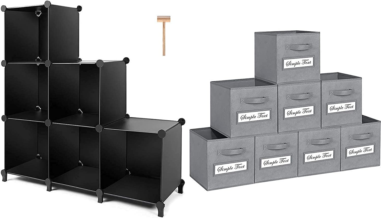 TomCare Cube Storage Surprise price 6-Cube Organizer Spring new work one after another Shelves wit Closet