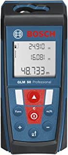 Medidor l/áser de distancias alcance 50 m, inclin/ómetro, conexi/ón Bluetooth/™, con funda Bosch Professional GLM 50 C