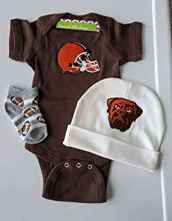 Cleveland Browns baby clothes boy/Browns football baby clothes/Cleveland Browns baby gift/Browns baby gift/Cleveland Browns newborn boy/Cleveland Browns bodysuit/Cleveland Browns layette