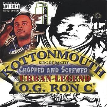 Urban Legend : O.G. Ron C Mix