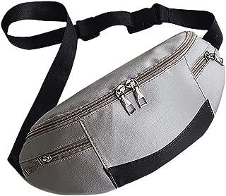 CrazyloverⓇ Fanny Pack Waist Bag Travel Pocket Chest Shoulder Bag Running Belt with Adjustable Belt for Workout Vacation