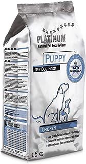 プラチナム ナチュラル ドッグフード : チキン 無水調理ドライフード (グルテンフリー) 子犬(パピー)用 (1.5kg)